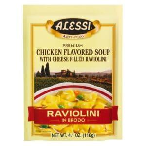Alessi Raviolini **Chicken Soup W/ Cheese**