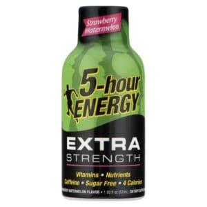 5-Hour Energy Extra Strength Strawberry & Watermelon