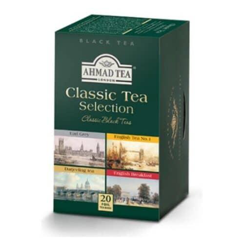 Ahmad Classic Tea Selection (Assorted Black Tea) (4 Flavors)