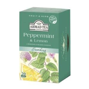 Ahmad Herbal Infusion Tea Peppermint & Lemon