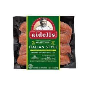 Aidells Smoked Chicken Sausage Italian Style with Mozzarella Cheese (8 pc)
