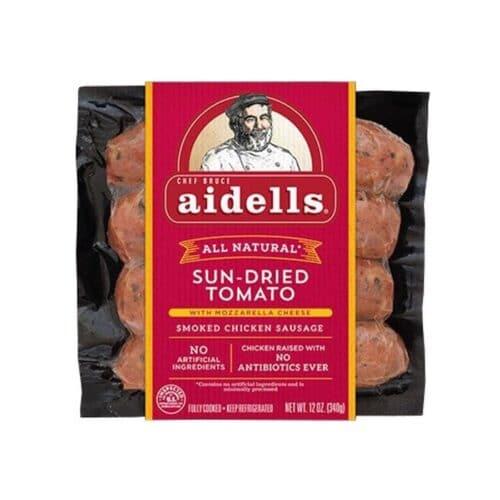 Aidells Smoked Chicken Sausage Sun-Dried Tomato (8 pc)