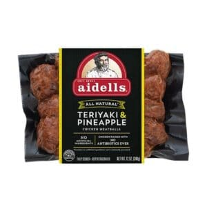 Aidells Meatballs Teriyaki & Pineapple (8 pc)