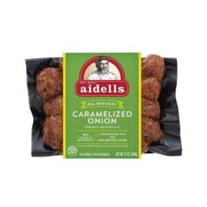 Aidells Meatball Onion Chicken  Caramelized (8 pc)