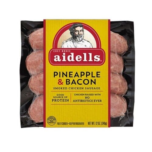 Aidells Smoked Chicken Sausage Pineapple Bacon (8pc)