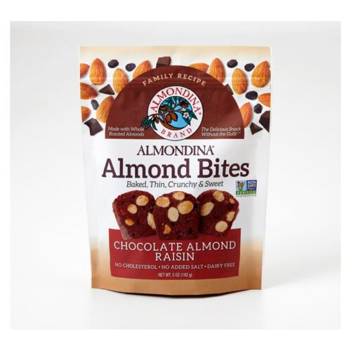 Almondina Almond Bites Chocolate Raisin