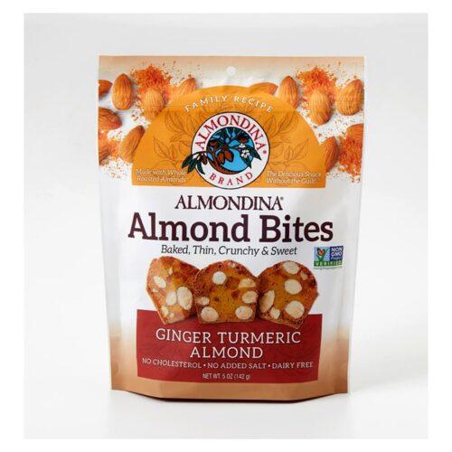 Almondina Almond Bites Ginger Turmeric