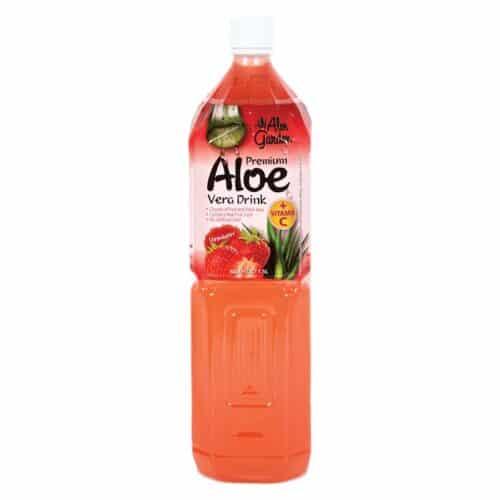 Aloe Garden Aloe Juice Strawberry (1.5L)
