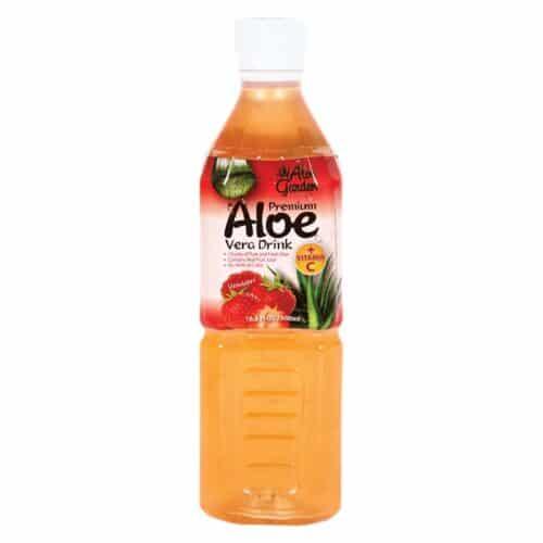 Aloe Garden Aloe Juice Strawberry (500ml)