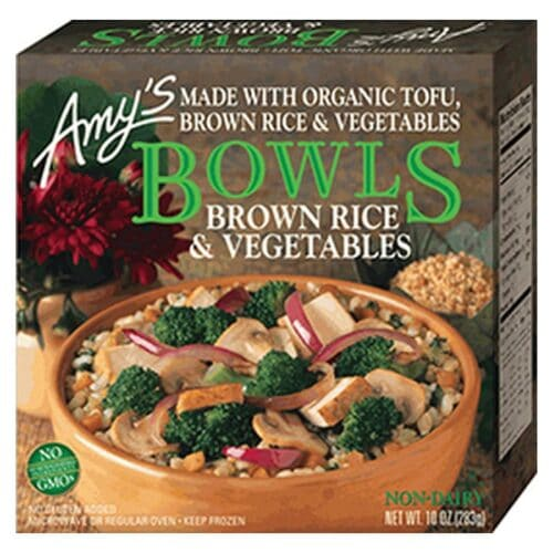 [F] Amys Bowls Brown Rice & Vegetables #161