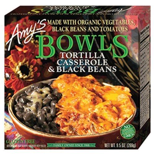 [F] Amys Bowls Tortilla Casserole & Black Beans #168