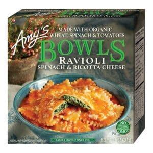 [F] Amys Bowls Ravioli Spinach #1129