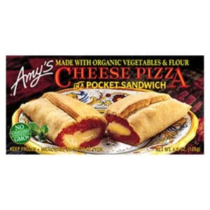 [F] Amys Cheese Pizza in a Pocket Sandwich #175