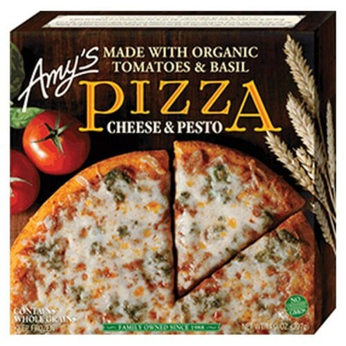 [F] Amys Cheese & Pesto Pizza with Whole Wheat Crust #190