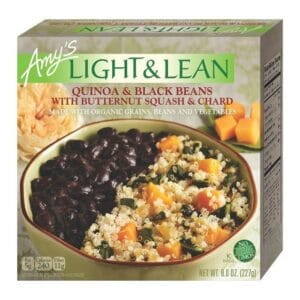 [F] Amys Light & Lean Quinoa & Black Beans #902