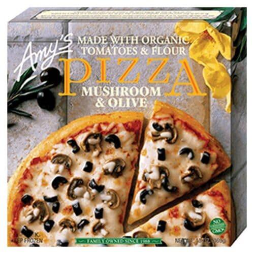[F] Amys Pizza - Mushroom & Olive #109