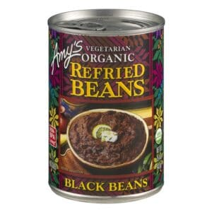 Amys Refried Black Beans