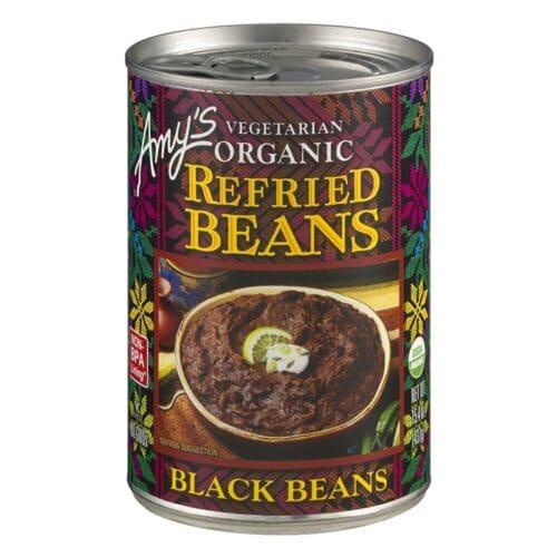 Amys Refried Black Beans