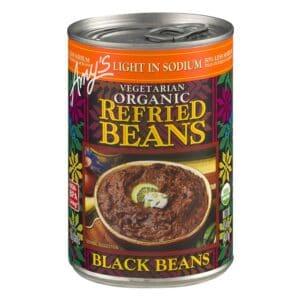 Amys Light in Sodium - Refried Black Beans