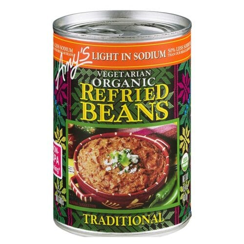 Amys Light in Sodium - Traditional Refried Beans