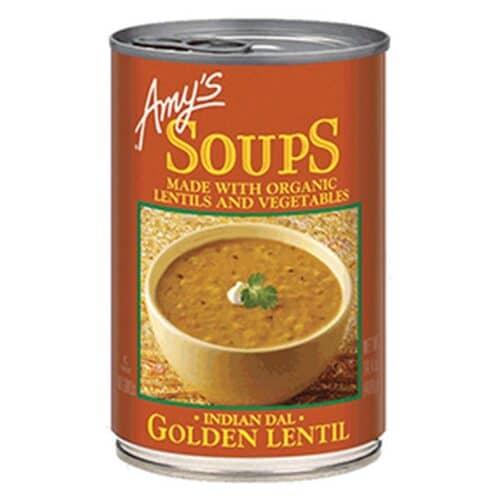 Amys Golden Lentil Soup