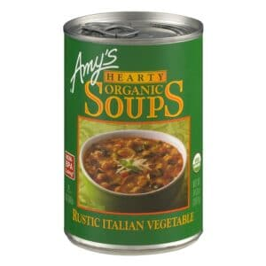 Amys Hearty Italian Vegetable Soup