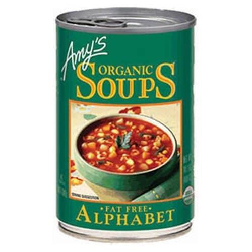 Amys Alphabet Soup