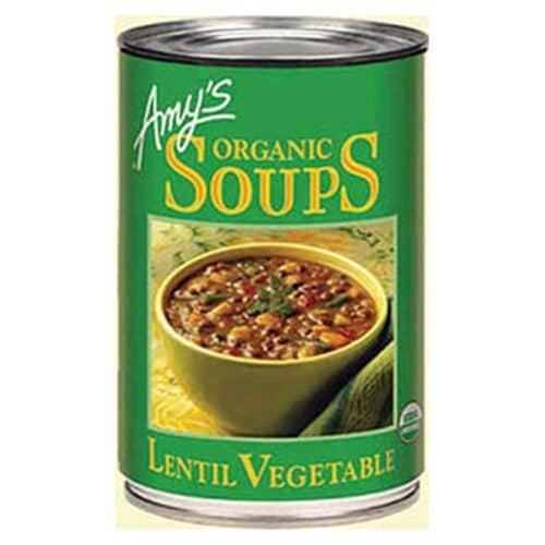 Amys Lentil Vegetable Soup