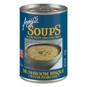 Amys Mushroom Bisque with Porcini