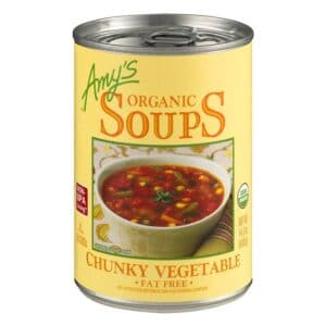 Amys Chunky Vegetable Soup