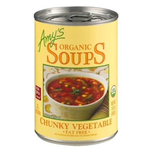 Amys Chunky Vegetable Soup