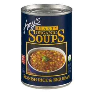 Amys Hearty Spanish Rice & Red Bean Soup