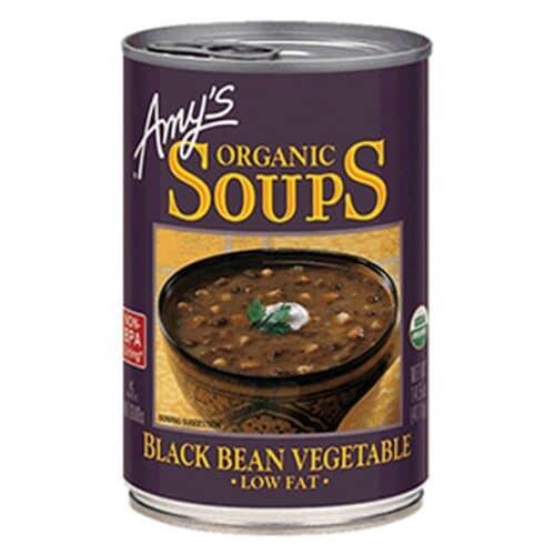 Amys Black Bean Vegetable Soup