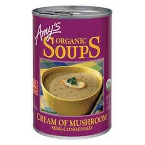 Amys Cream of Mushroom Soup