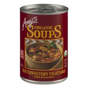 Amys Fire Roasted Southwestern Vegetable Soup