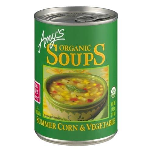 Amys Summer Corn & Vegetable Soup