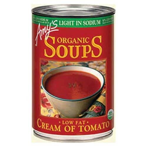 Amys Light in Sodium - Cream of Tomato Soup