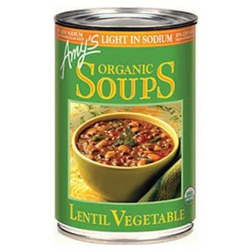 Amys Light in Sodium - Lentil Vegetable Soup