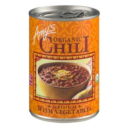 Amys Medium Chili with Vegetable