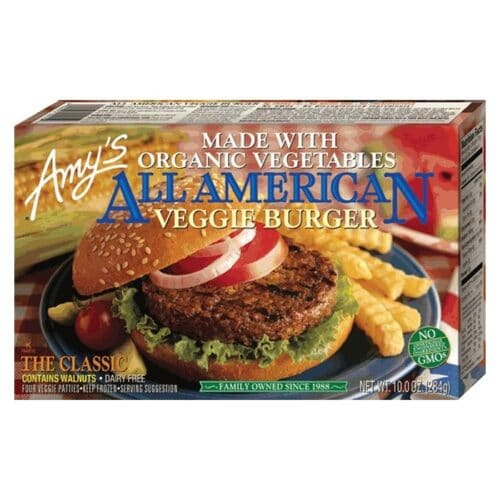 [F] Amys All American Veggie Burger #015
