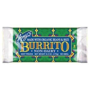 [F] Amys Burrito – Non Dairy Bean & Rice #070