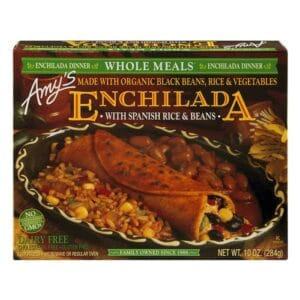 [F] Amys Enchilada Black Bean Whole Meal #051