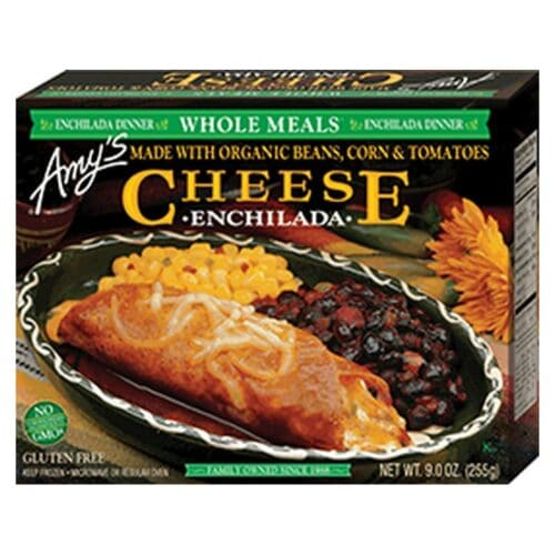 [F] Amys Enchilada Cheese Whole Meal #057