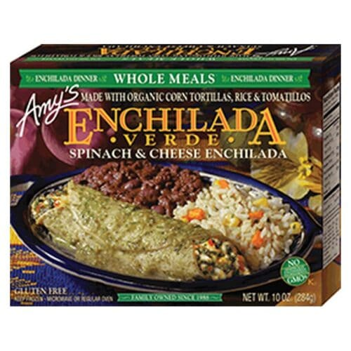 [F] Amys Enchilada Verde Whole Meal #085