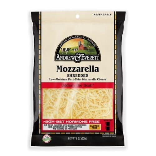 Andrew & Everett Shredded Mozzarella