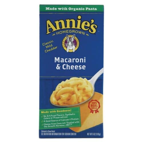 Annies Natural Macaroni & Cheese Classic (Blue Box)