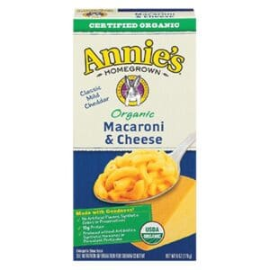 Annies Organic Macaroni & Cheese Classic (Blue Box)
