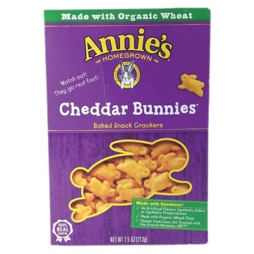 Annies Cracker Cheddar Bunnies