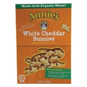 Annies Cracker White Cheddar Bunnies