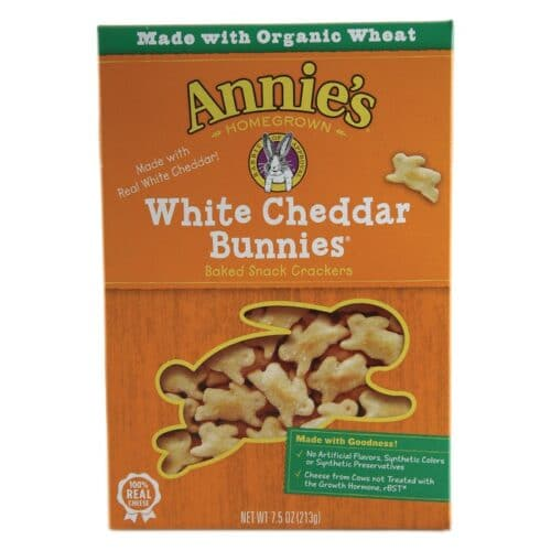 Annies Cracker White Cheddar Bunnies